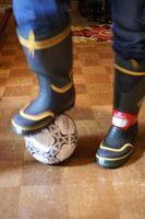 長靴サッカー?