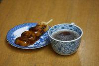 お団子とお茶