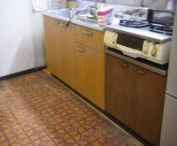 台所修繕工事